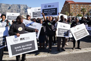 Peopls March against Jacob Zuma