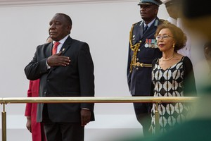 Photo of president Ramaphosa