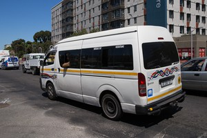 Photo of minibus taxi