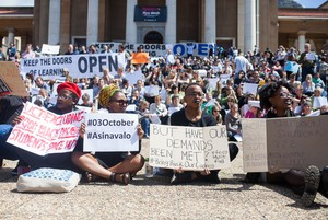 Photo of UCT protests