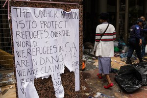 Refugees Evicted outside UNHCR