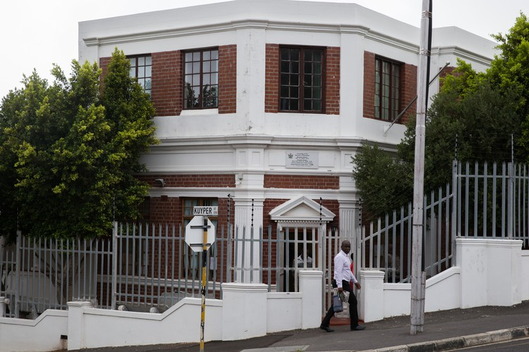 Photo of Zimbabwean consulate