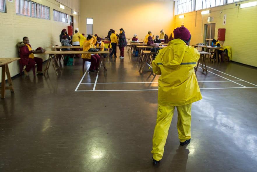 Arisen Women also operates out of the Stephen Reagan Hall in Westridge, Mitchells Plain. Clinics, social development offices and community driven organisations, such as Arisen Women, have become key delivery and health partners.