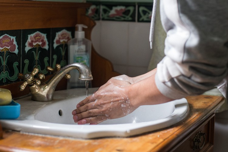 Hand-washing, masks and keeping your distance from other people are key to reducing the risk of contracting Covid-19 or infecting others. Photo: Ashraf Hendricks