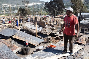 Aftermath After Fire in Imizamo Yethu