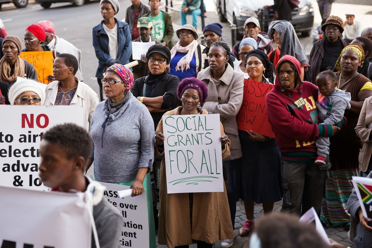 Picket for Social Grants