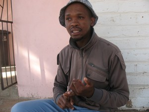 Photo of farmworker Charles Limpho Morena