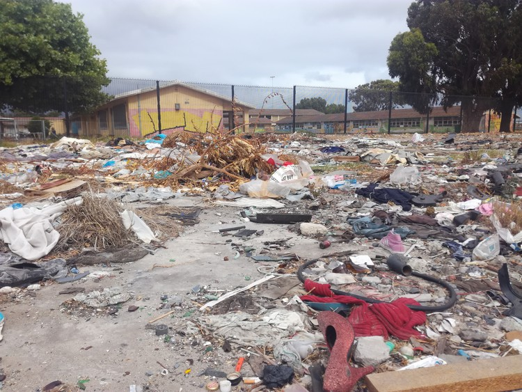 Bonteheuwel School Grounds Used As Illegal Dumping Site