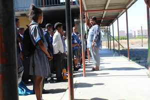 Photo of school learners