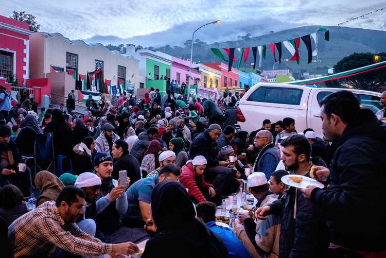 Muslims break their fast during Ramadan in Cape Town, South Africa. - Barry Christianson