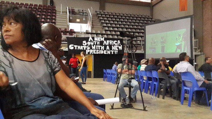 Photo from Zuma must go rally in Soweto