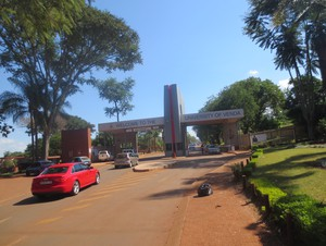 Photo of entrance to University of Venda