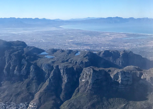 Photo of Cape Town from the air