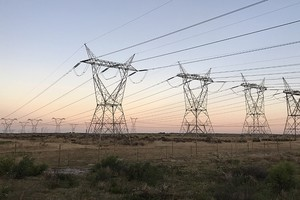 photo of electricity pylons