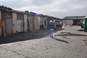 Photo of Die Stalle informal settlement in Woodstock
