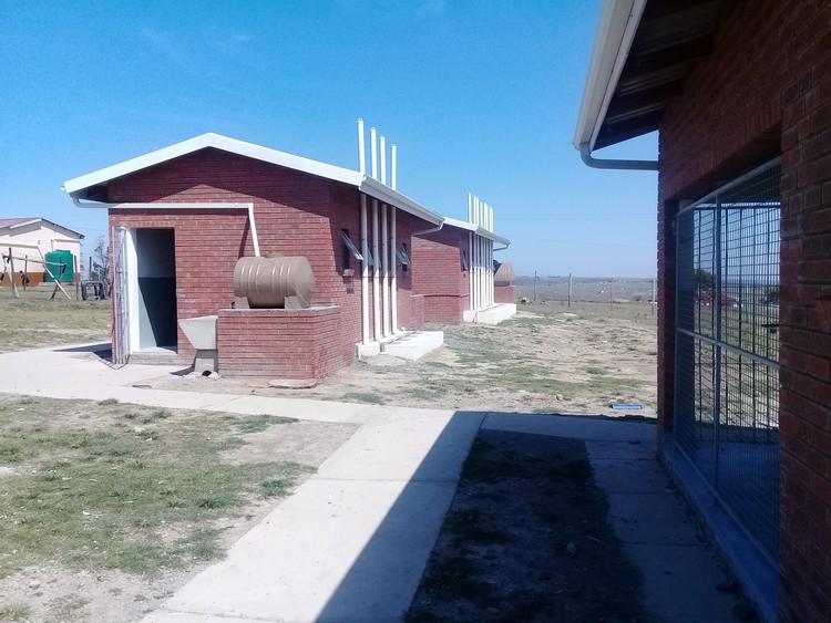 Photo of toilet buildings