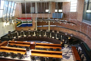 Photo inside the Concourt