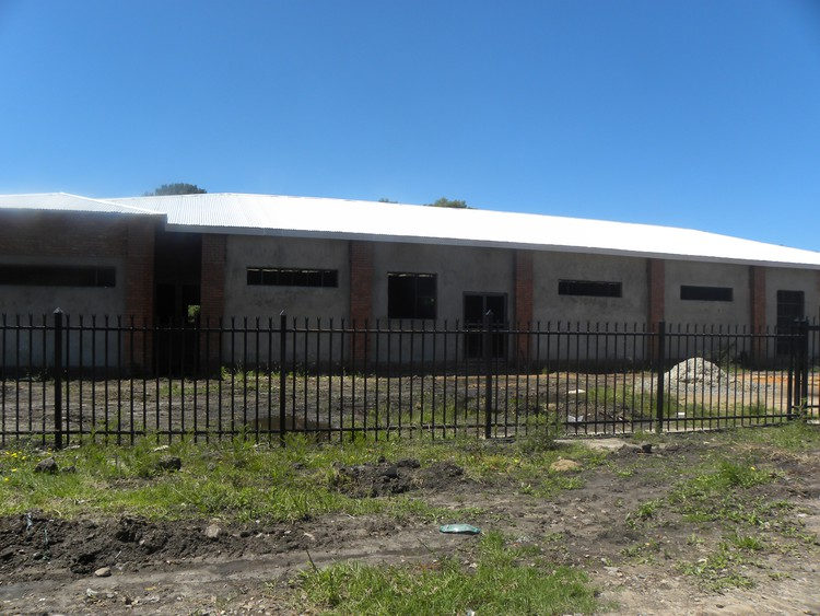 Photo of NLC funded incomplete building