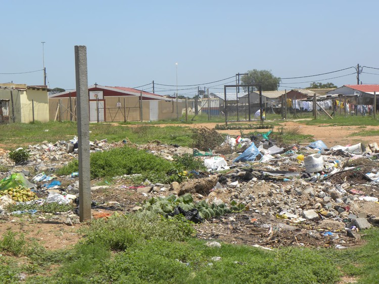 Photo of rubbish dump