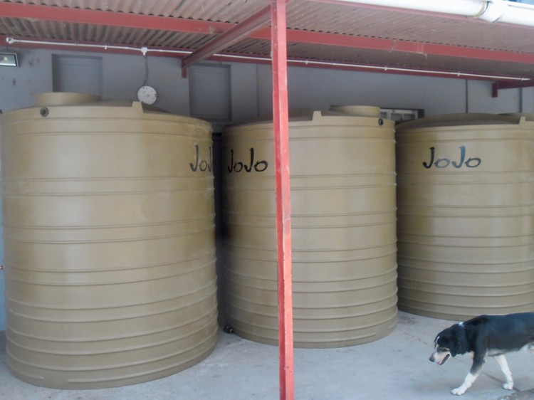 Photo of water tanks