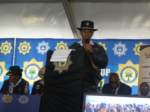 Photo of police commissioner