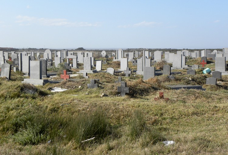 Photo of a cemetry