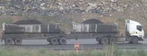 Photo of coal truck