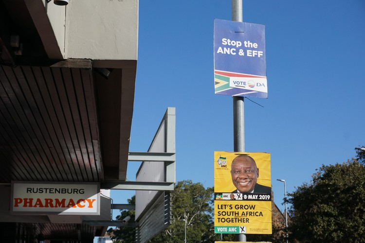 Photo of election posters