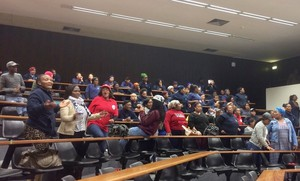 Photo of people in a lecture hall
