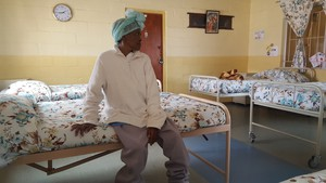 Photo of woman in dormitory