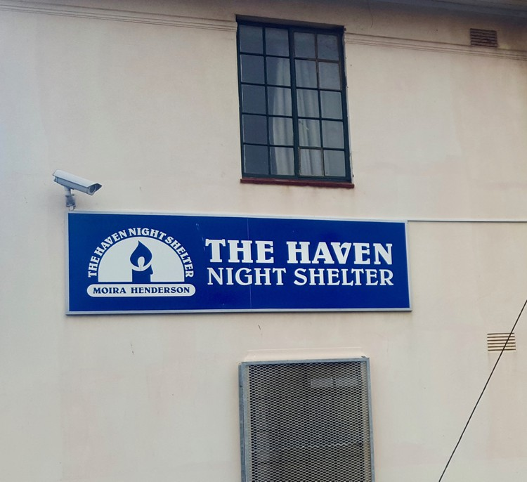 Photo of a shelter