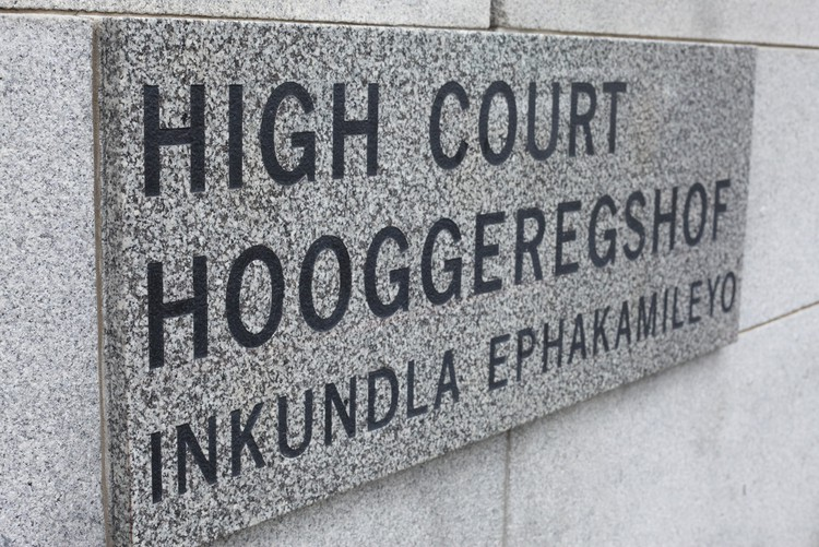 Photo of High Court sign