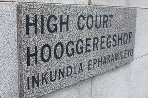 Photo of court sign