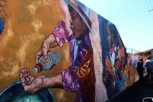 Photo of mural in Swift Street Salt River