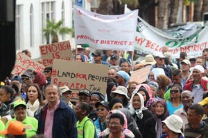 Photo of District Six march