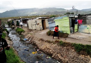 Photo of an informal settlement