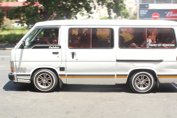 Photo of generic minibus taxi