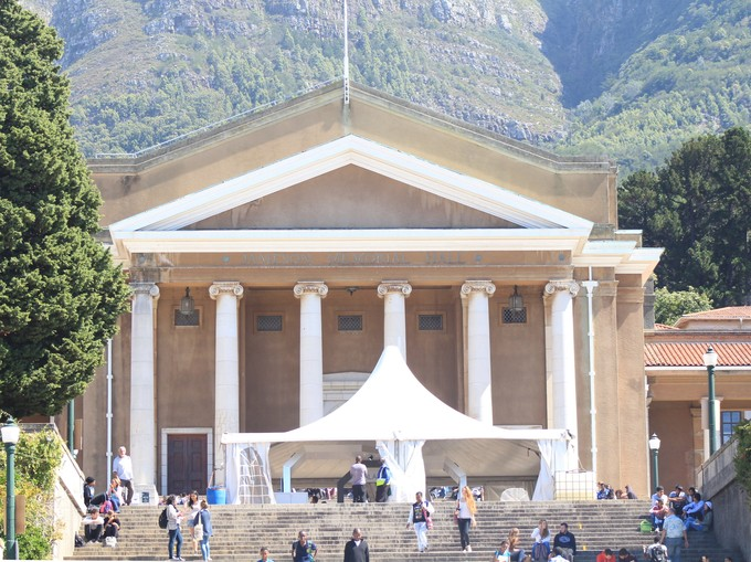 Photo of main hall at UCT
