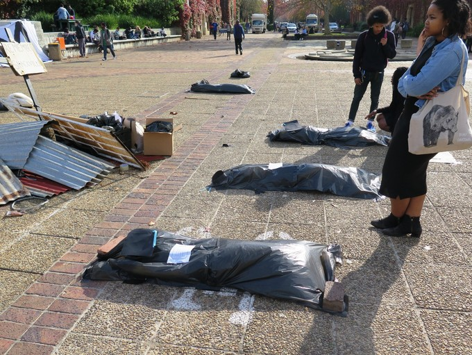 Photo of body bags