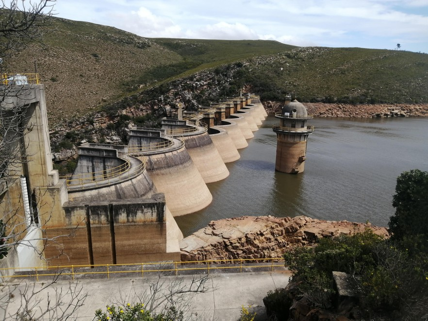 Churchill dam is at 55%.