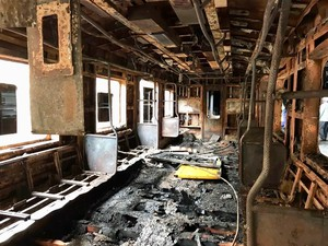 Photo of burnt out coach