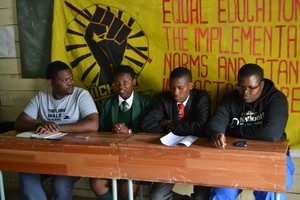 Photo of Equal Education members