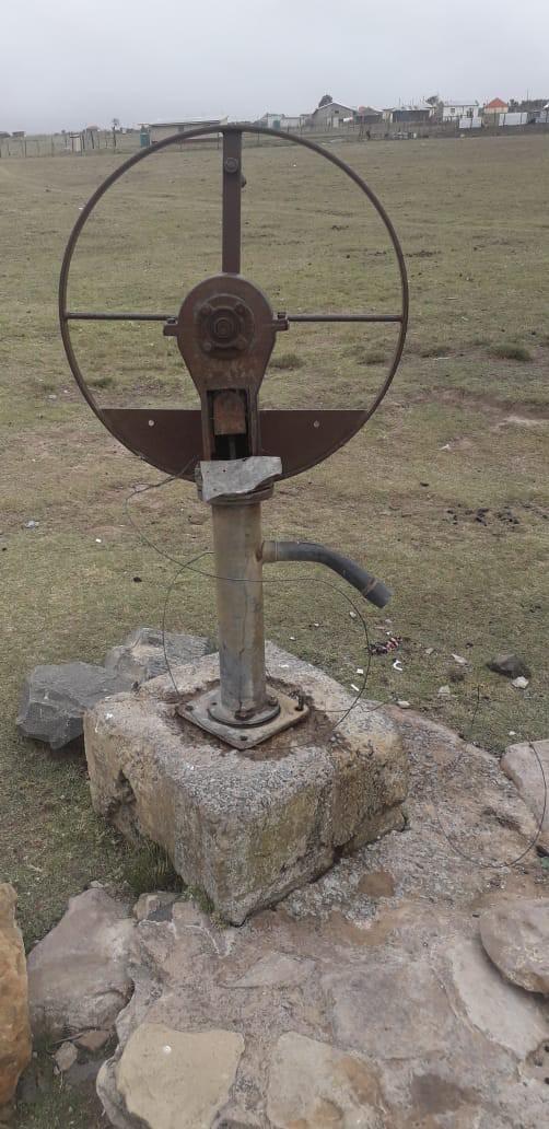 Photo of unused pump