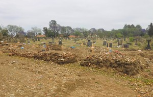 Photo of cemetery
