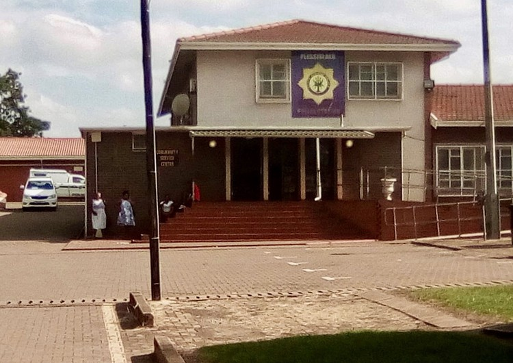 Photo of a police station