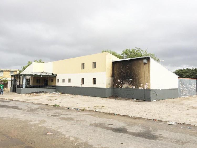 Photo of derelict building
