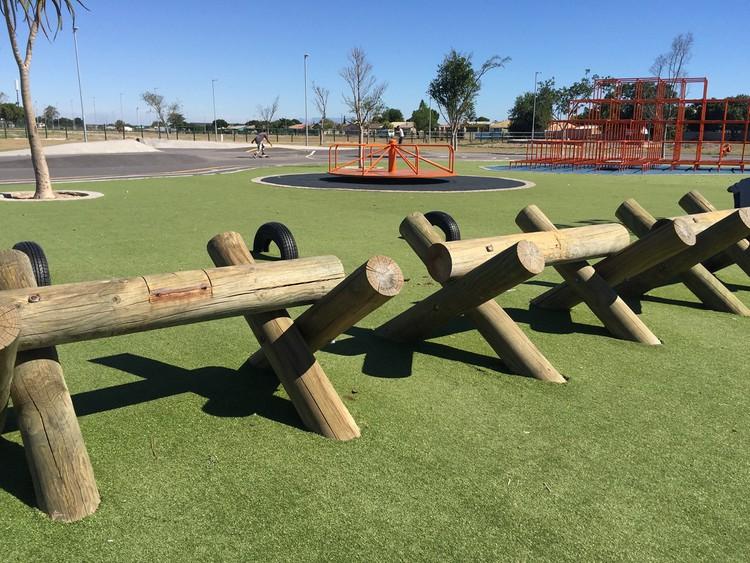 Photo of a park