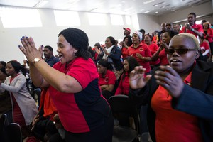 Photo of Abahlali meeting
