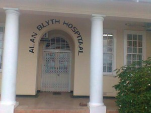 Photo of entrance to Alan Blyth Hospital in Ladismith