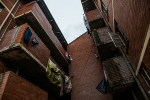 Photo of one of the Glebelands\'s blocks